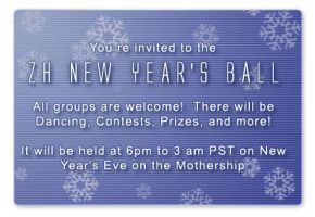 ZH New Year's Ball invite by foxumon