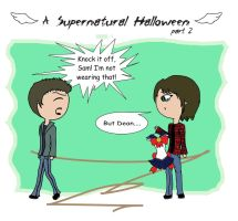 A Supernatural Halloween [part 2] by Xenobia4