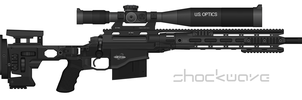 Remington MSR (Modular Sniper Rifle) by Shockwave9001