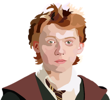 Ron Weasley Digital Painting by whovianpoprocks