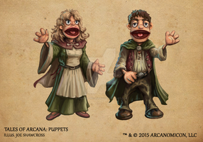 Tales of Arcana 1st Set - Puppets by TalesofArcanaRPG