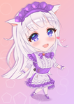 Commission of Poesy in Chibi! Her FFXIV charac ter by SoffehAto