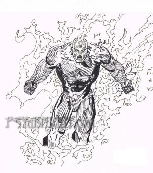 Human Torch by PSYaKNIGHT