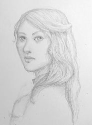Pencil portrait by Ciuva