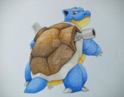 009 Blastoise by kraftingas