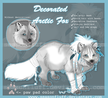 Decorated Fox Adoptable [claimed] by Seasonally