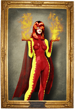 Flame Bailador by SpaceMonkey1977