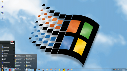 Windows 7 on Spanky - Windows 98 Revisited by slowdog294