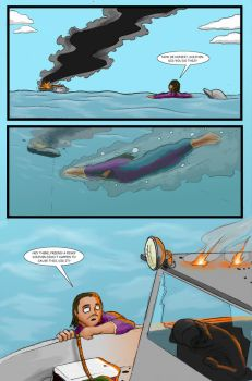 Super Clyde - Water Comic Page 4 Recolored by vytera