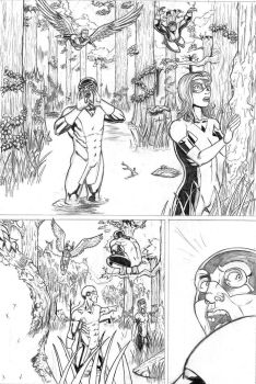 X-Men First Class Issue #8 pg. 1 by LipGlossary