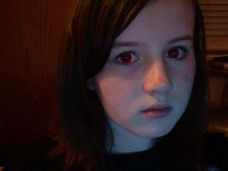 Red contacts XD by zombiefied-cupcake