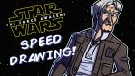 TFA Speed Drawing - 5 of 9 - Han Solo by JoeHoganArt