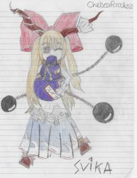 Suika Ibuki by chelseafcrocks82