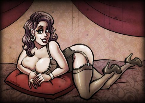 Pinup - Helena by hooksnfangs
