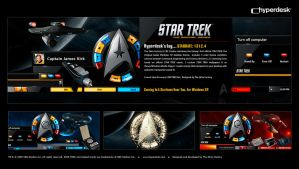 Star Trek Advance Promo by skinsfactory