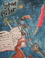 Star Rider Painting by zZxero