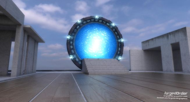 Updated Pegasus Stargate by forgedOrder