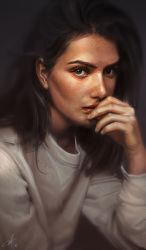 Portrait study 02 by flare3103