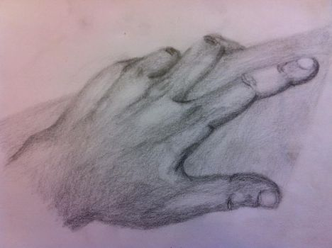 Hand by sketch-abuser
