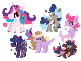 CLOSED FREE MLP Ref to Adopts 2 by FrostbittenArt