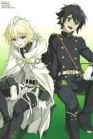 Seraph of the End #3 by rollingthunder24