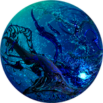 Blue seaweeds $1 by ricky4