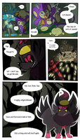 Mission 8: Page 8 (Present) by doodlesANDkyn