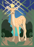 The Considerate Fawn by AimOfDestiny