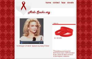 AIDS Sucks.org by LadyLuck89