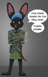 'Five Years On The NDA, Nick...' by giftheck