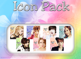 KPOP Icon Pack [15 icons] by AsianEditions