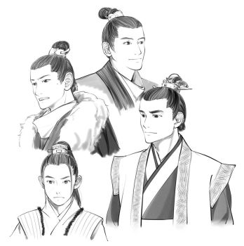 Nirvana in Fire Drawing by Glimja