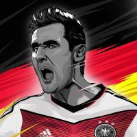 Miroslav Klose by dicky10official
