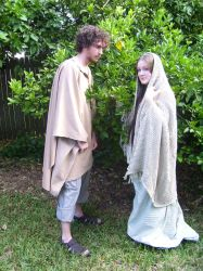 Mary and Joseph 14 by SophStock