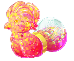 [closed] Easter Pacadvent - Glitter Goo by gatorstooth