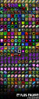 Icon List World of Warcraft by Goblinounours
