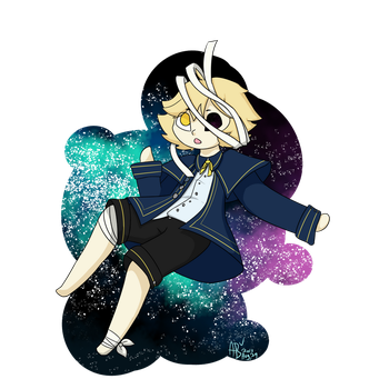 Oliver in space!!! by AreeTheFox