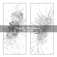 Wireframes pack - 1000pvs by usbb