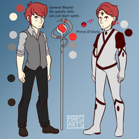 [Character Ref] UPDATED- Prince Cyrus of Doria by Mars-Arts