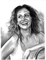 Julia Roberts by Caricatureart