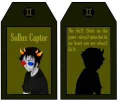 Sollux Romantic Card by Ameistris