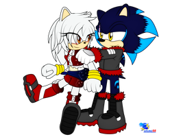 :Com: Night and Knight the hedgehogs by Arung98