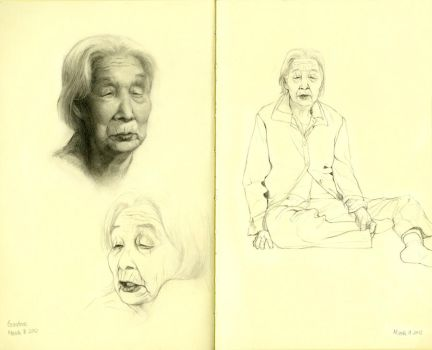 Grandmother by FionaMeng