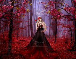 The red forest by annemaria48