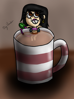 cup tea {Digital} by BigClaudia