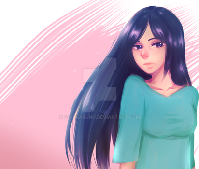 Hime_painting practice by UchiHaruno