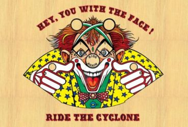 Cyclone  T-Shirt Front by Pinballwzd