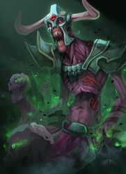 Dota2 Undying tombstone by biggreenpepper