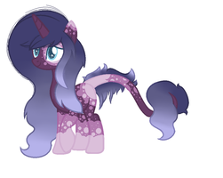Adoptable pony auction Brightness (closed) by selenacat13