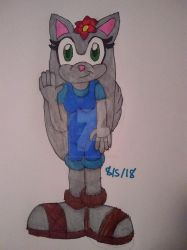 Lily the Wolf (GIFT!) by Erik-the-Okapi